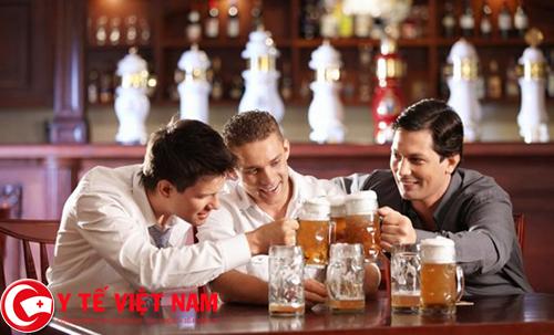 Rượu bia nguyên nhân gây bệnh gan nhiễm mỡ