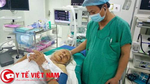 Bệnh nhân sốc nhiễm trùng đường mật nguy hiểm