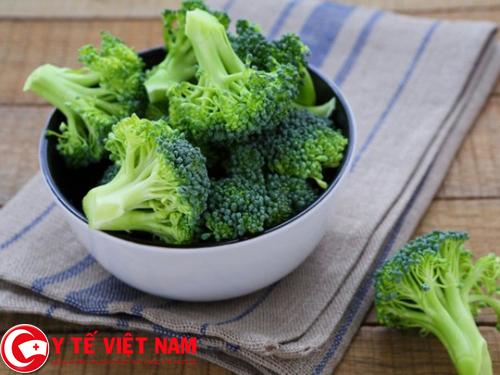 Nên ăn nhiều rau súp lơ