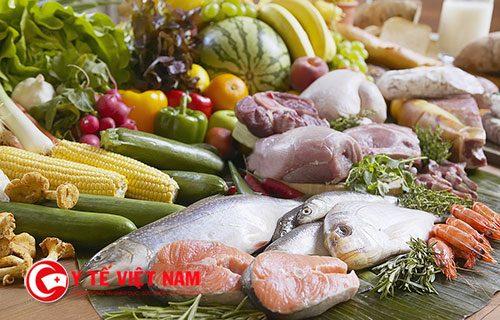 Người ốm nên ăn đa dạng các loại thực phẩm
