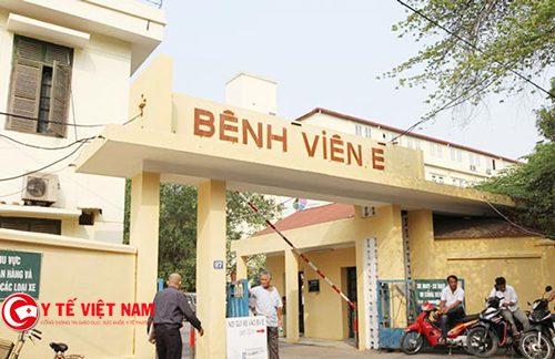 Bệnh viện E cơ sở y tế công lập đầu tiên khám, láy mẫu xét nghiệm tại nhà