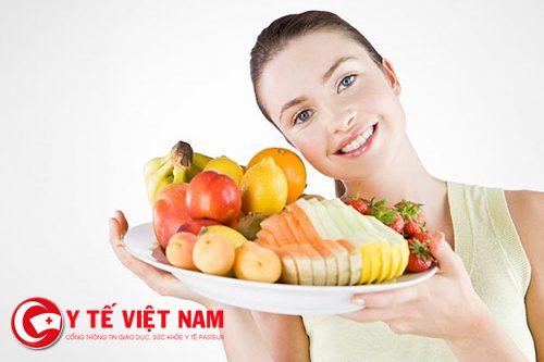 Bổ sung trái cây và rau quả