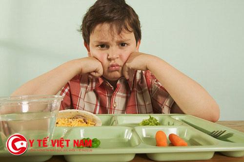 Trẻ biếng ăn có rất nhiều dấu hiệu để mẹ nhận biết