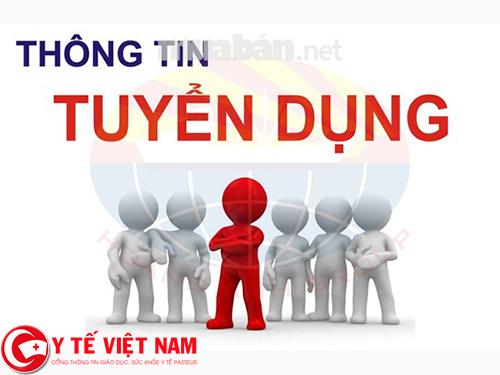 Tuyển dụng nhân viên y tế tại Hà Nội lương hấp dẫn, đi làm ngay