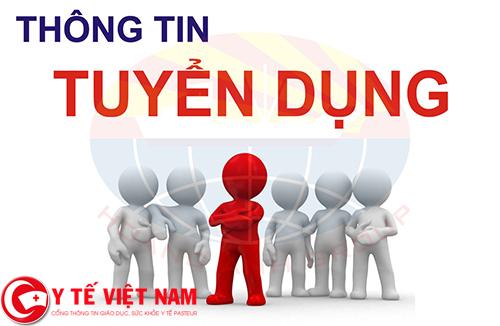 Tuyển dụng nhân viên y tế tại Nghệ An