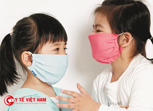 Phòng ngừa bệnh viêm đường hô hấp cho trẻ