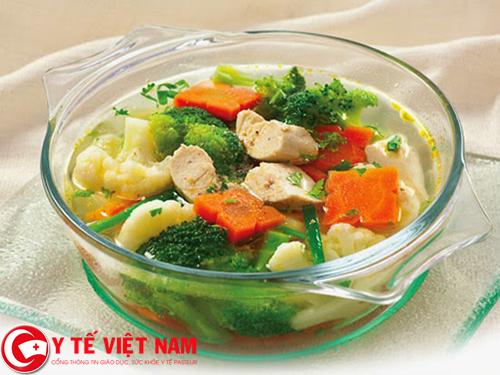 Hướng dẫn cách chế biến món canh súp lơ viên bò