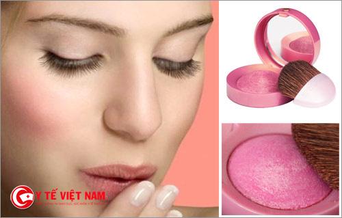 Lựa chọn phấn hồng phù hợp với da giúp lên màu một cách chính xác