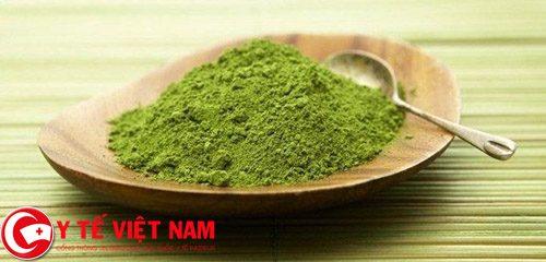 Công dụng giảm mỡ bụng của bột trà xanh