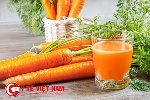 Cà rốt kết hợp với chanh