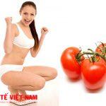 Bí quyết giảm mỡ bụng siêu hiệu quả bằng cà chua