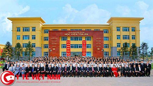 Học viện Tòa án tuyển sinh với 320 chỉ tiêu