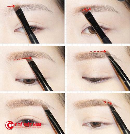 Kẻ chân mày giúp khuôn mặt và đôi mắt bạn có đường nét hơn