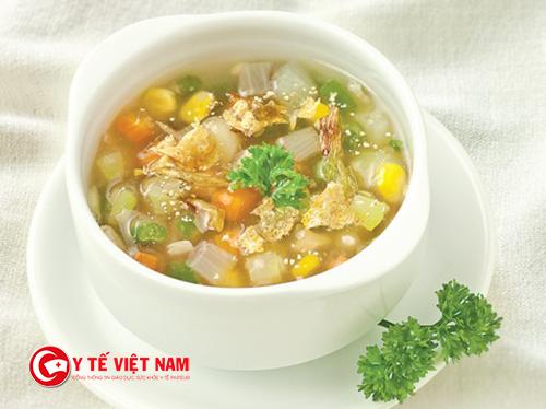 Món súp cho mùa đông