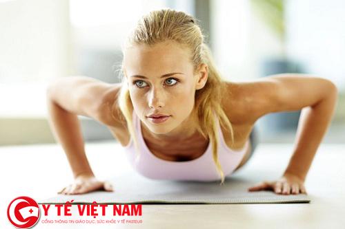 Bài tập nâng ngực cũng là cách nâng ngực tự nhiên