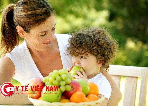 Rau xanh giúp trẻ phát triển tốt hơn