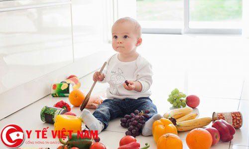 Mỗi loại rau xanh có tác dụng khác nhau đối với cơ thể trẻ