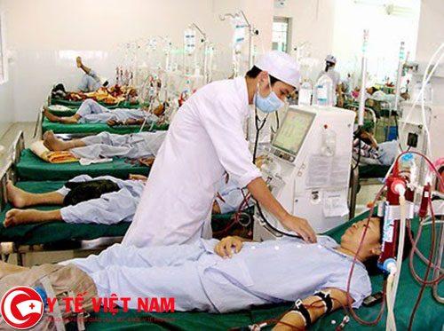 Lọc máu ở bệnh nhân suy thận mãn