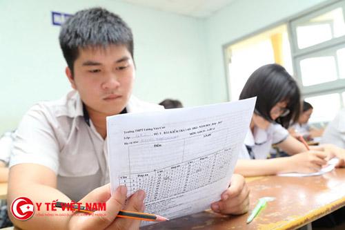 Thời gian công bố điểm thi THPT Quốc gia chậm nhất ngày 07/07