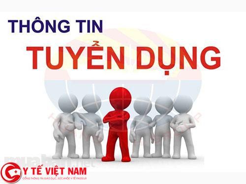 Tuyển dụng Kỹ thuật viên Xét nghiệm đi làm ngay tại Hà Nội