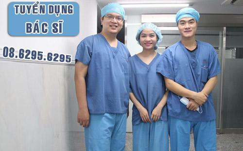 Tuyển dụng bác sĩ Y Dược làm việc tại TPHCM