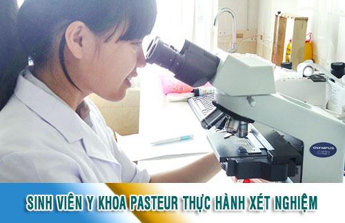 Trường Cao Đẳng Y Dược Pasteur là trường uy tín đào tạo ngành Xét nghiệm