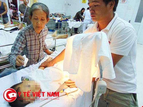 Cháu Hải được điều trị tại bệnh viện TP Hồ Chí Minh