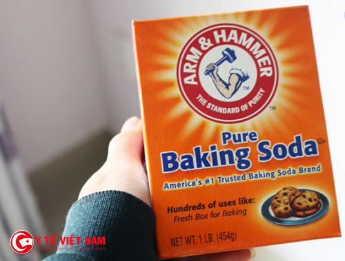 Tẩy trắng răng bằng baking soda mang lại cho bạn hàm răng trắng sáng