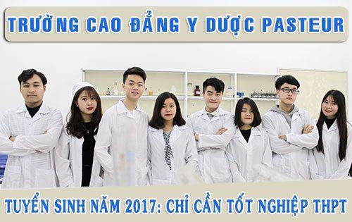 Thông báo tuyển sinh Cao đẳng Y Dược Hà Nội năm 2017