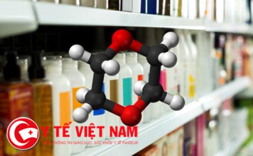 1,4-dioxane là chất gây ung thư ở người