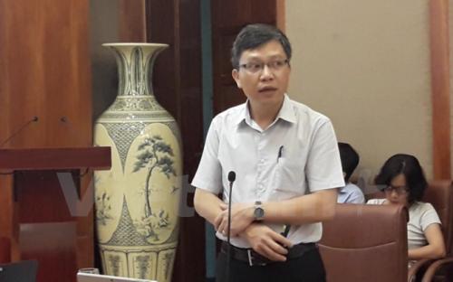 Ông Dương Tuấn Đức – Phó trưởng Ban Thực hiện chính sách Bảo hiểm Y tế. (Ảnh: PV/Vietnam+)