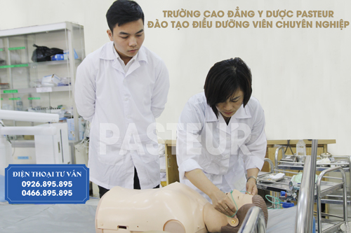 Thông báo tuyển sinh liên thông Cao đẳng Điều dưỡng năm 2017 tại Hà Nộ