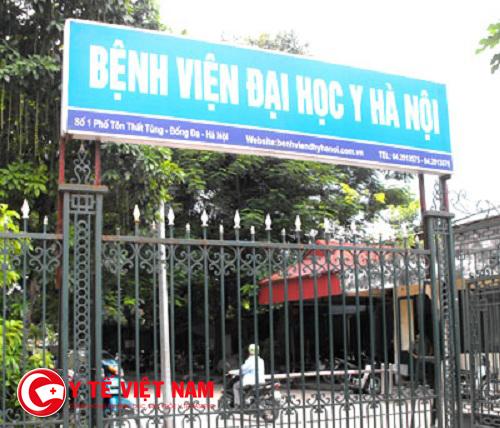 Côn đồ vào Bệnh viện Đại học Y Hà Nội chém bệnh nhân