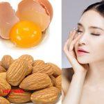 cách làm căng da mặt với tinh dầu hạnh nhân