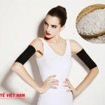 cách làm giảm mỡ bắp tay