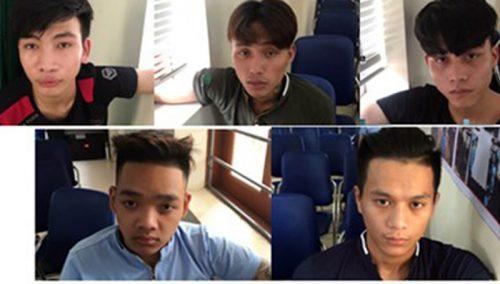 Các đối tượng liên quan đến vụ án chém bệnh nhân tại BV ĐHY Hà Nội bị bắt.