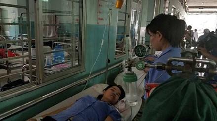 34 công nhân tại TP.HCM cấp cứu nghi bị ngộ độc khí tập thể