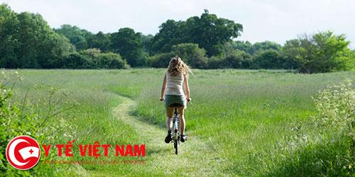 Lợi ích sức khỏe nếu đạp xe đúng cách