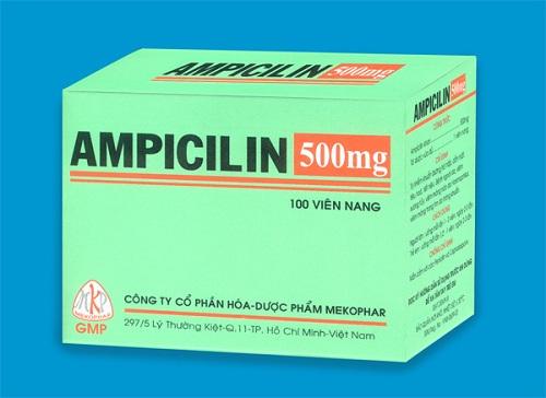 Dược sĩ Trường Cao đẳng Y dược Pasteur lưu ý khi sử dụng Ampicillin