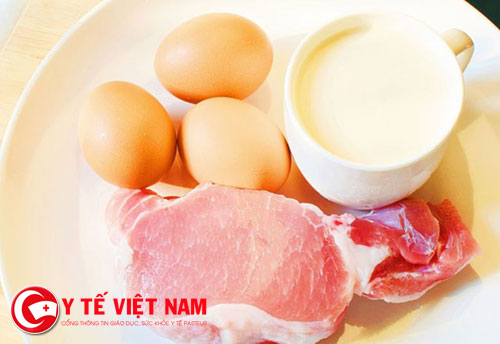 Kết hợp sữa với thịt gây hại sức khỏe