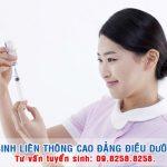 Hà Nội tuyển sinh liên thông Cao đẳng Điều dưỡng năm 2017