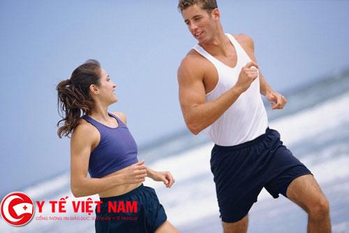 Tập thể dục thế thao thường xuyên giúp quý ông cải thiện tình trạng rối loạn cương dương