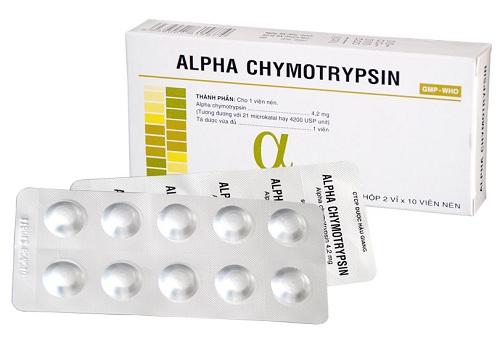 Trường cao đẳng Y Dược lưu ý Sử dụng thuốc Alpha Chymotrypsin đúng nhất