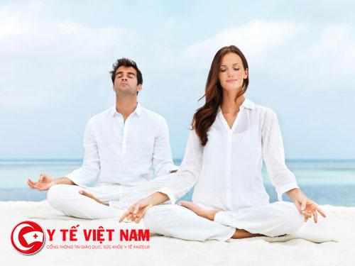 Tập yoga giúp bạn giữ tinh thần thoải mái, lạc quan