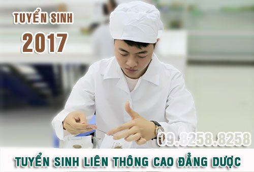 Tuyển sinh liên thông Cao đẳng Dược Hà Nội năm 2017