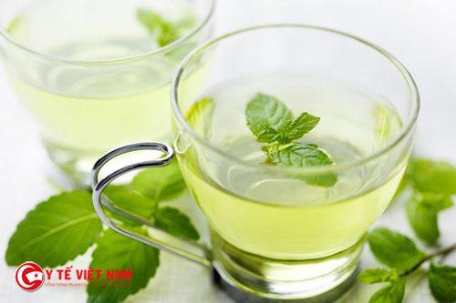 Nước bạc hà giúp giảm mỡ bụng siêu tốc