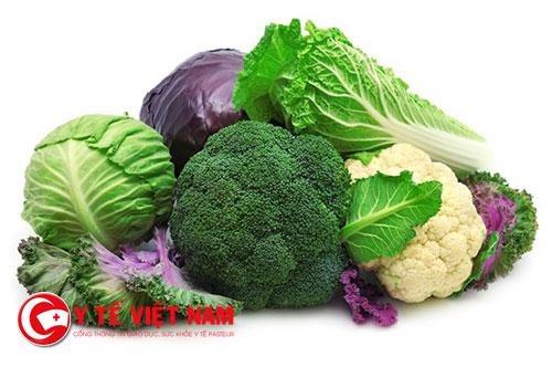 Hạn chế ăn nhiều các loại rau họ cải