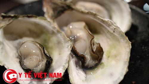 Cẩn thận khi ăn hàu biển sống trong môi trường nhiễm khuẩn