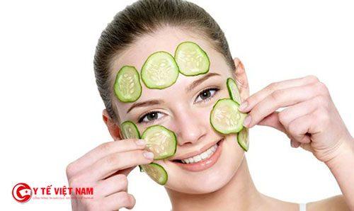 Mặt nạ cho da khô từ dưa leo giúp cung cấp đủ độ ẩm cho da