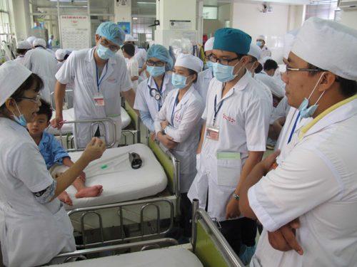 Sinh viên theo học tại ĐH Y dược TP.HCM